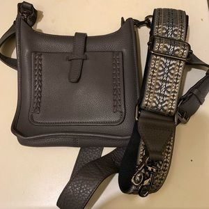 Rebecca Minkoff mini leather feed bag💕
